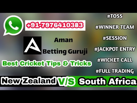 New Zealand V/S South Africa || 25th World Cup Match Prediction 2019 ||  Best Cricket Tips & Tricks