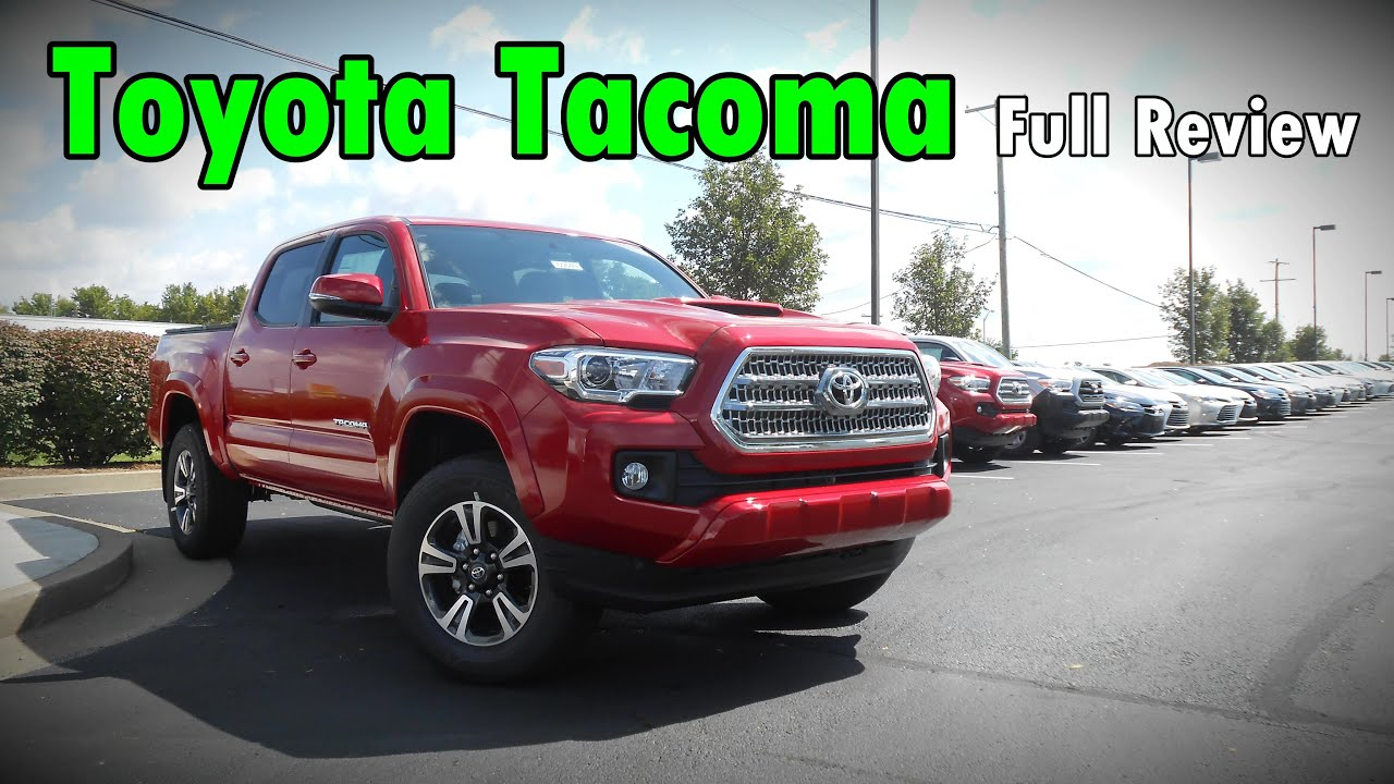 2017 toyota tacoma full review sr sr5 trd sport trd. Black Bedroom Furniture Sets. Home Design Ideas
