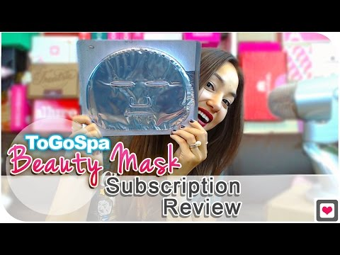 ToGoSpa Beauty Mask Subscription Review