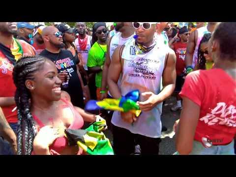 Miami carnival jouvert 2018 Pt1 [ miami carnival 2018 ps ]