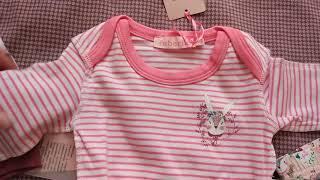 Заказ с распродажи Фаберлик. Одежда для новорожденных деток