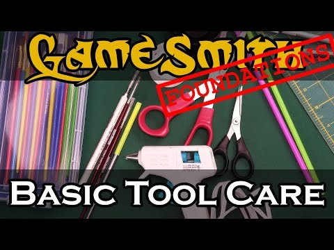 Basic Crafting Tool Care (2019) GameSmith Foundations 003