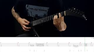 BETWEEN THE BURIED AND ME - Yellow Eyes (Guitar Cover with TAB by Jordan Bonnevialle)