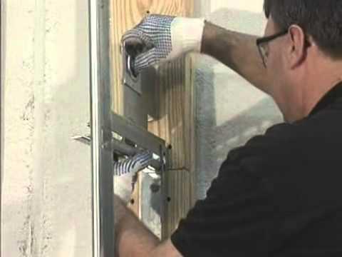 (6) Installing Vertical Lift Track