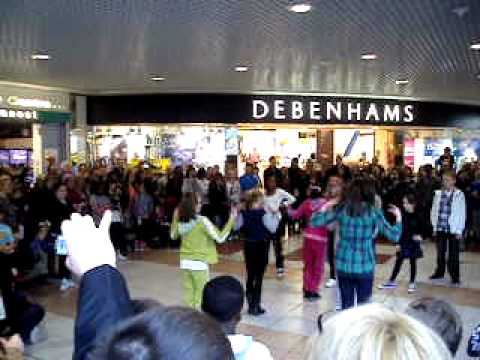Flash Mob in The Blanchardstown Centre 2011