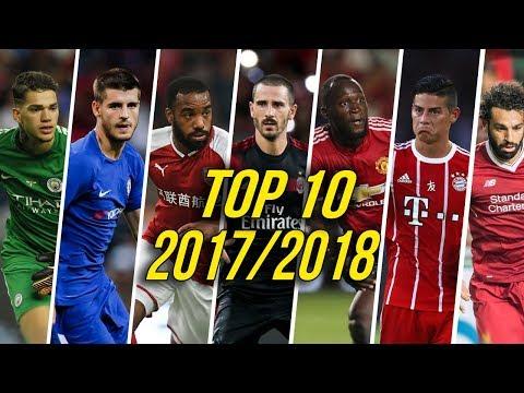 Top 10 Football Transfers 2017/18 HD