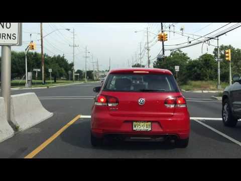 Paterson Plank Road (NJ 120) northbound