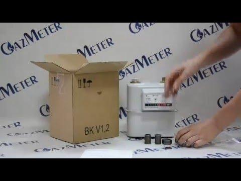 Газовый счетчик Elster BK1,6 обзор от GazMeter
