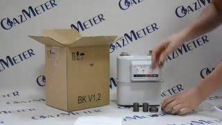Газовый счетчик Elster BK1,6 обзор от GazMeter(, 2016-04-25T09:20:08.000Z)
