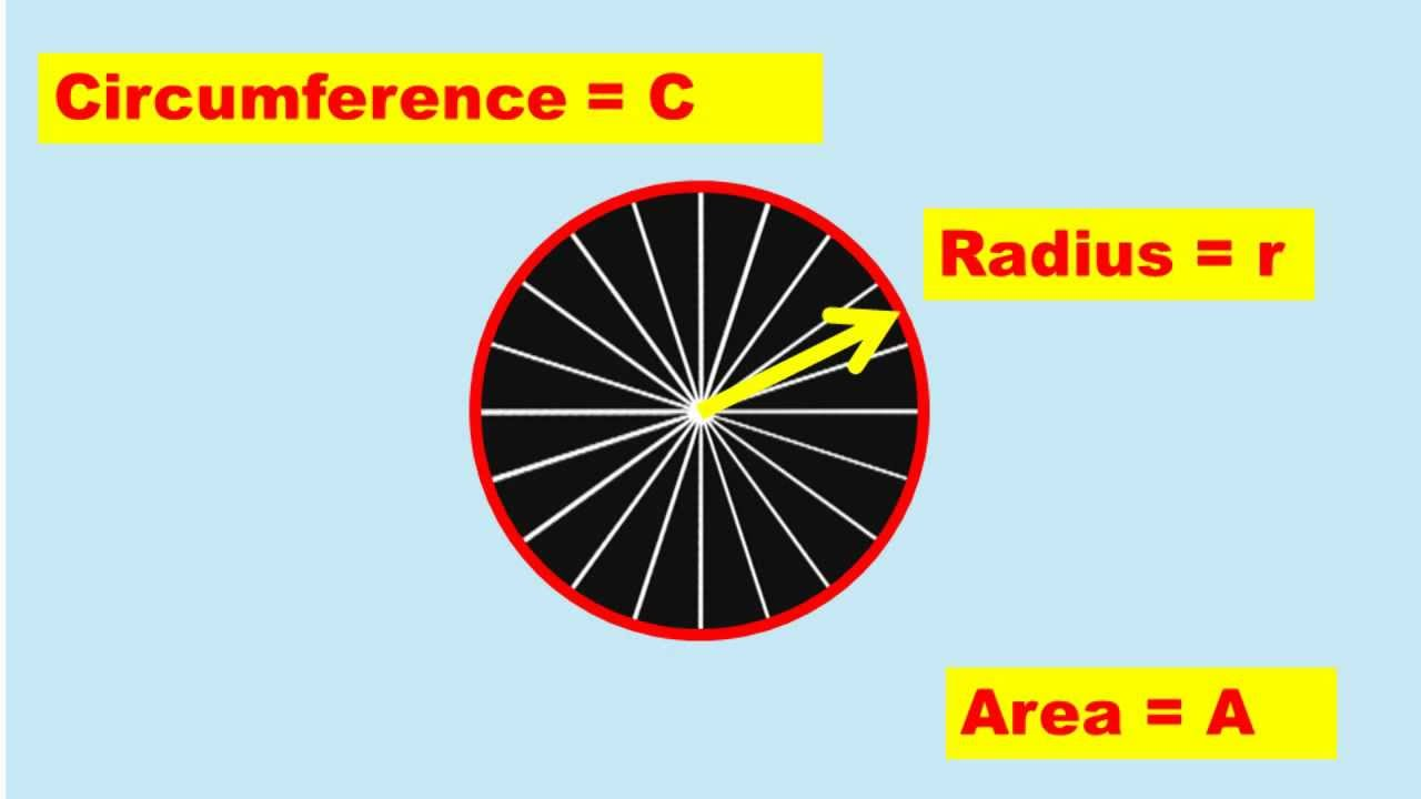 how to work out the circumference of a circle