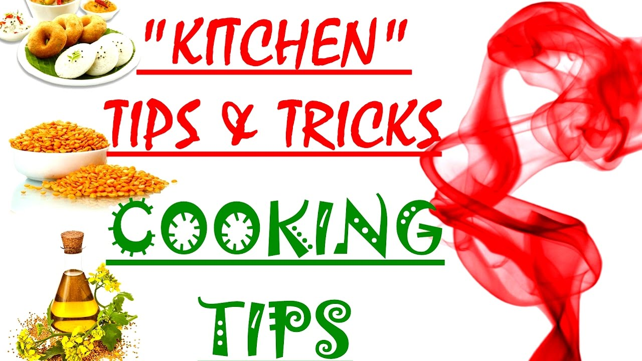 KITCHEN TIPS and COOKING TIPS - YouTube