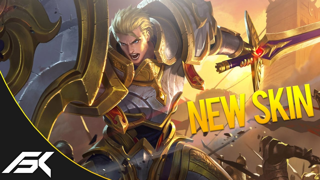 Mobile Legends New Hero Skin Tigreal Youtube