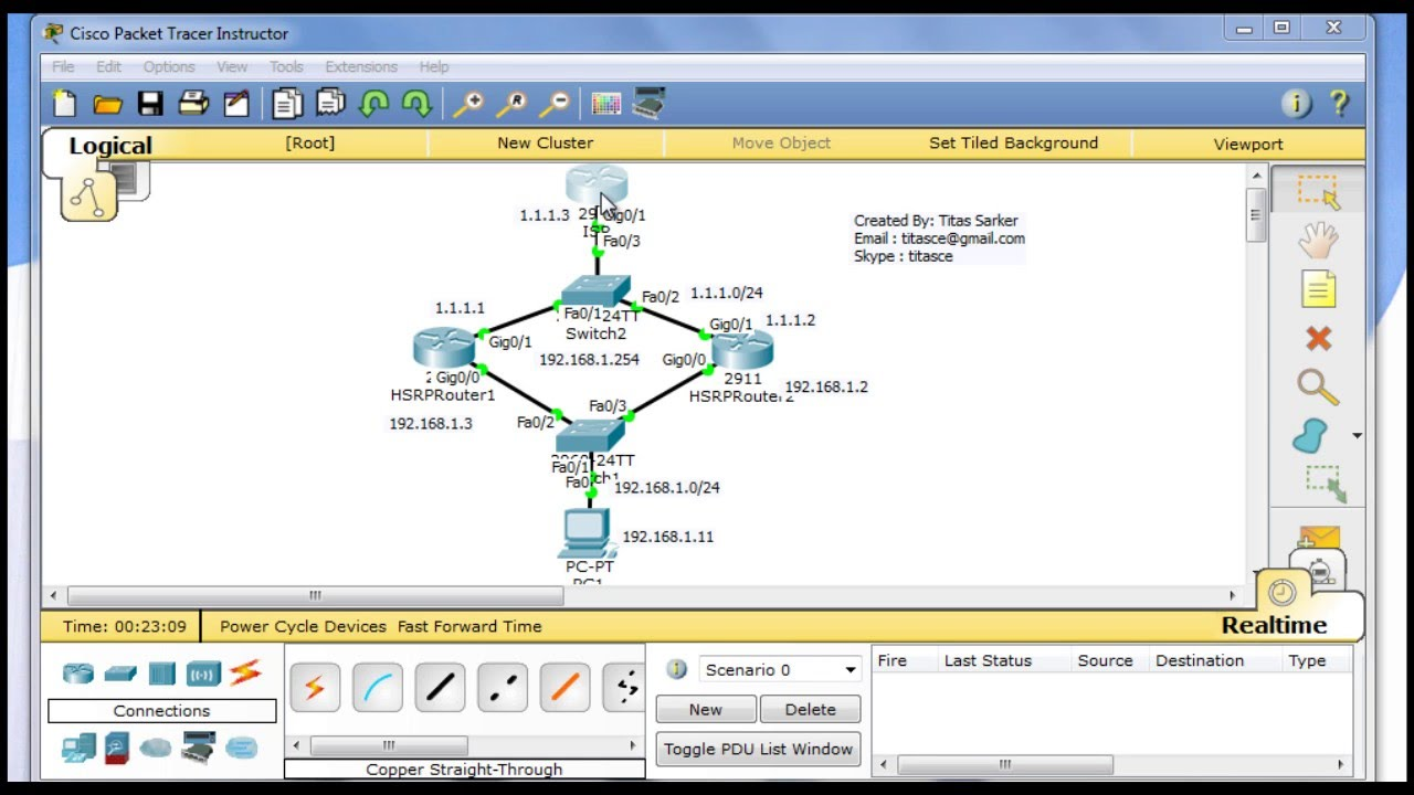 Tracer tutorial pdf cisco 5.3 packet