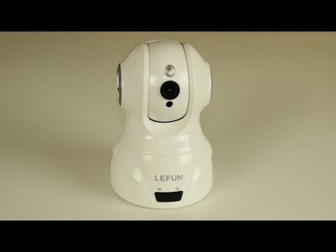 Wireless Home Security IP Camera by LeFun w/ Night Vision & Remote Surveillance