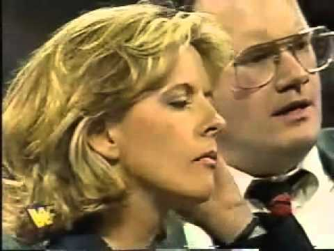 Diana Smith confronts Shawn Michaels