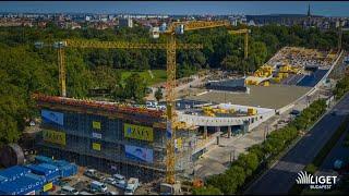 Liget Budapest: Elérte legmagasabb pontját az új Néprajzi Múzeum