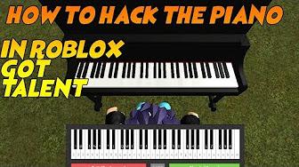 Roblox Got Talent Piano Hack Script Pastebin Youtube