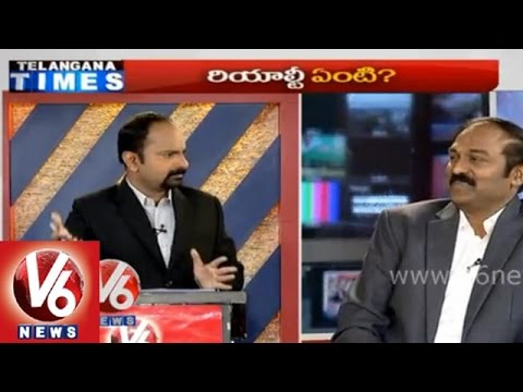 Effect of AP new capital city on Hyderabad - 7 PM Discussion