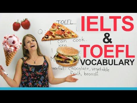 Từ vựng IELTS & TOEFL: Nói về thực phẩm