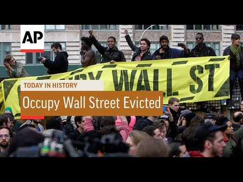 Occupy Wall Street Activists Evicted - 2011 | Today In History | 15 Nov 17