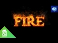 How to make fire text on Android | Photoshop Touch