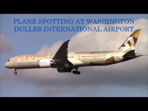 15+ Minutes of Plane Spotting at Washington Dulles International Airport (IAD/KIAD)