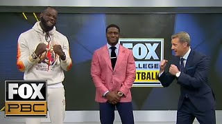 Heavyweight Champion Deontay Wilder joins CFB on FOX | PBC ON FOX