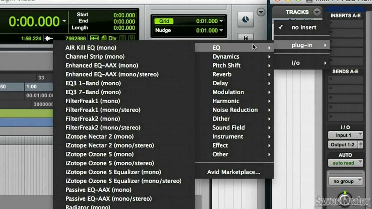 Tech Tip: How to add a plug-in in Pro Tools