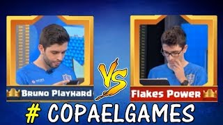 BRUNO PH VS FLAKES POWER #COPAEIGAMES - CLASH ROYALE