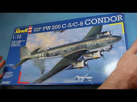 Intro/Review Revell 1/72 FW 200 C-5/C-8 Condor Build