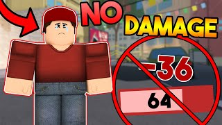 Arsenal But I Can't Take Damage... Roblox