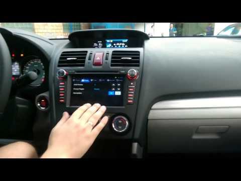 FlyAudio G7042F01 в автомобиле SUBARU Forester 2014