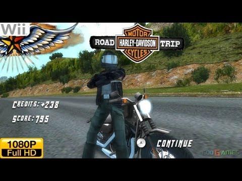 harley davidson: road trip - wii gameplay 1080p (dolphin gc/wii