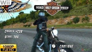 Harley Davidson: Road Trip - Wii Gameplay 1080p (Dolphin GC/Wii Emulator)
