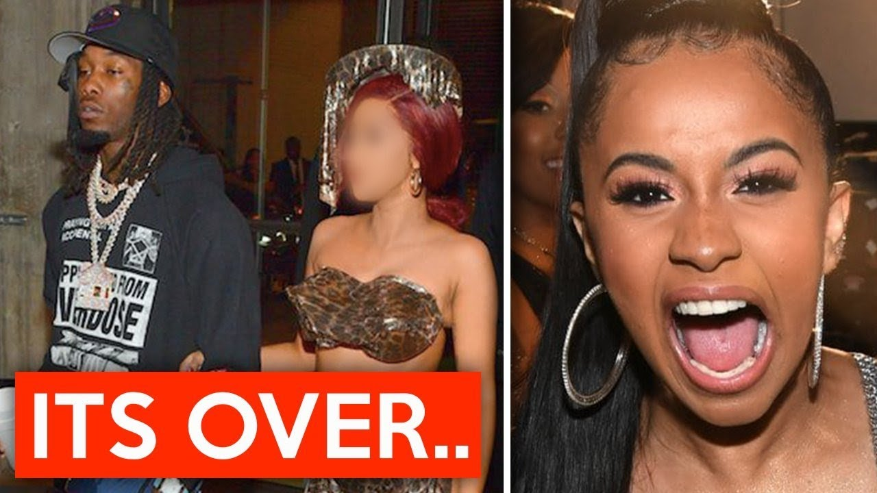 Cardi B And Offset Broke Up Over Cheating Rumors Is It: Cardi B Officially Broke Up With Offset After This