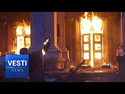 Ukrainian Neo-Nazi Radicals Commemorate Odessan Massacre With Grotesque Demonstration
