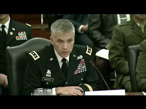 DFN: Service Cyber Chiefs Testify at Senate Subcommittee Hearing, UNITED STATES, 03.13.2018