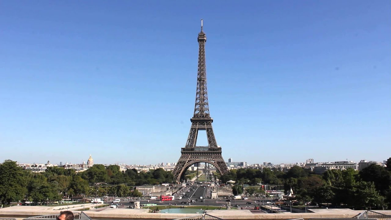 paris - tour de eiffel, eiffel tower (hd) - youtube