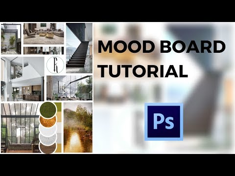 How To Create A Mood Board Using Photoshop