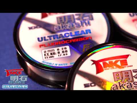 Lineaeffe Take Akashi Fluorocarbon 100m 0,60mm ultraclear
