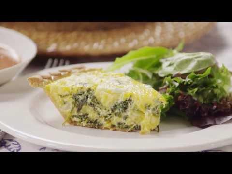 How to Make Spinach Quiche | Brunch Recipes | Allrecipes.com