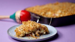 Sheet Pan Fajita Chicken Mac 'n' Cheese Recipe