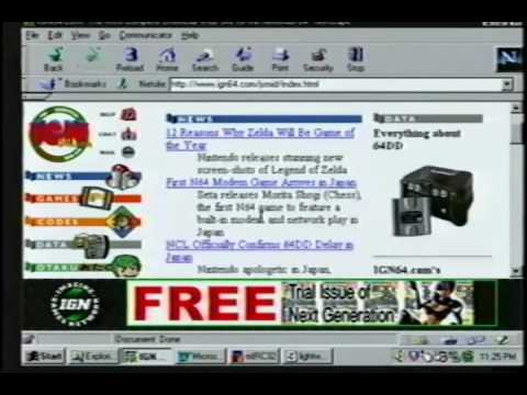 Internet in 1998