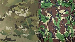 DPM vs MTP Camouflage Test