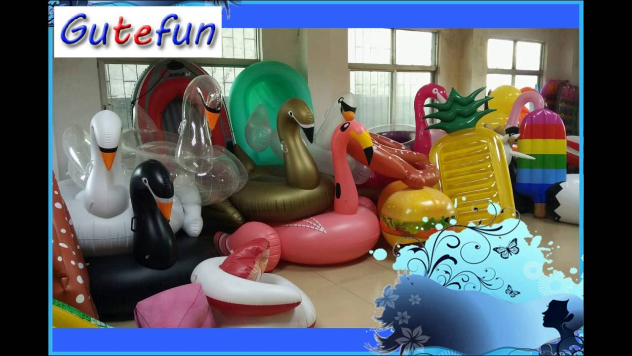 Our Company Showcase Of Giant Inflatable Pool Swan, Inflatable Floating  Swan Etc Pool Toys   YouTube