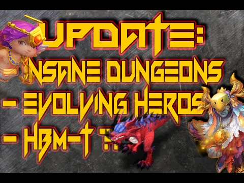Castle Clash: Insane Dungeons, Evolving Hero's & HBM - T ?! ❚ PAST MONTH OF PLAYING CC