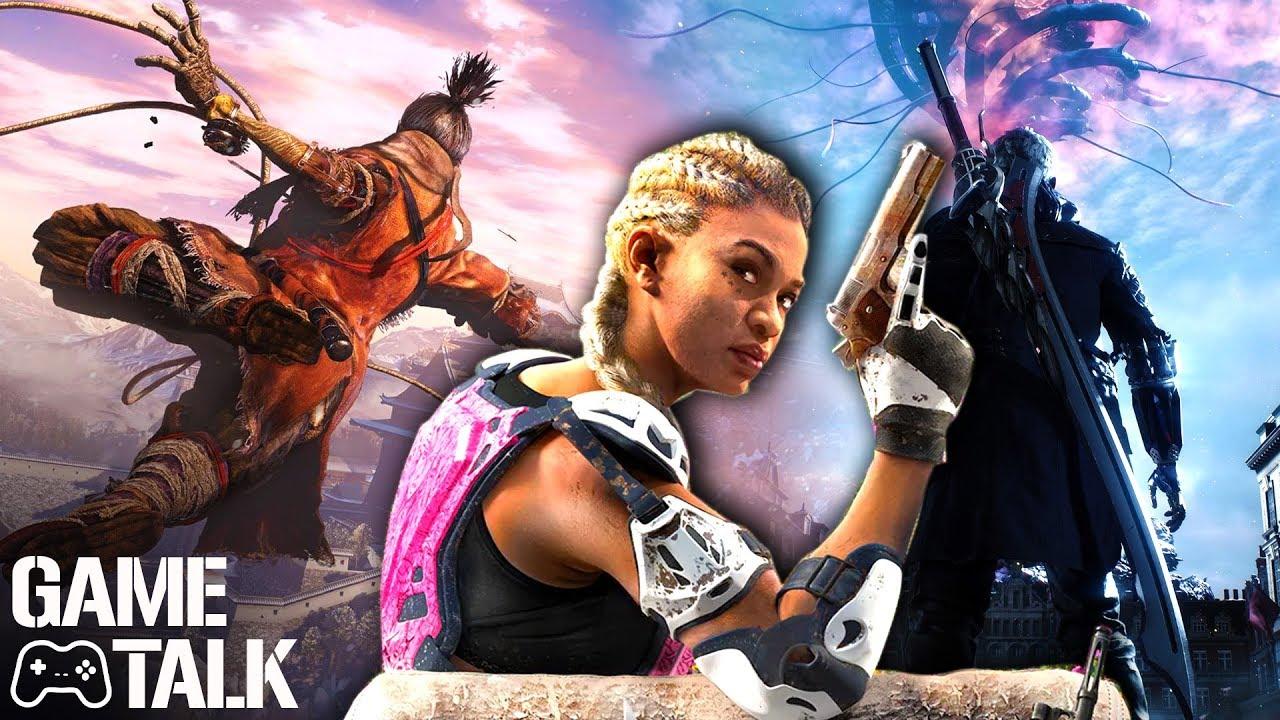 Game Talk #19 | Sekiro Shadows Die Twice, Devil May Cry 5, Far Cry: New Dawn, Metro Exodus