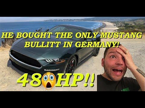 The only US Spec 2019 Mustang Bullitt in GERMANY!! #47