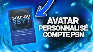 (PS4) ASTUCE : Mettre n'importe quelle image en avatar sur son compte PlayStation Network !