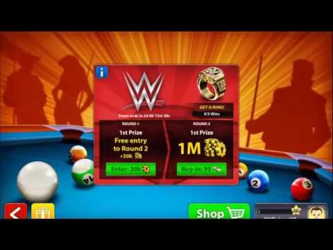 LIVE! Got the Archangel! WWE Tournament! 8 Ball Pool